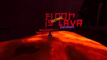 Floor is Lava YEETING Zonewars