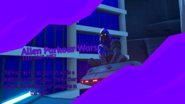 Alien Parkour Wars👽