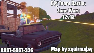 Big Team Battle: Zone Wars