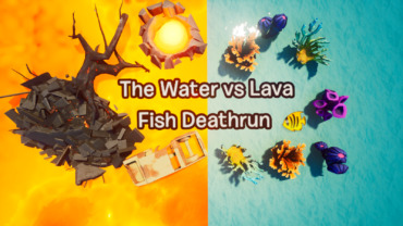 The Water vs Lava Fish Deathrun