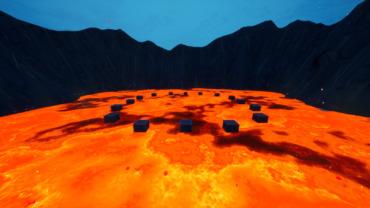 Floor is Lava Zone Wars