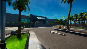Coconut mall race track