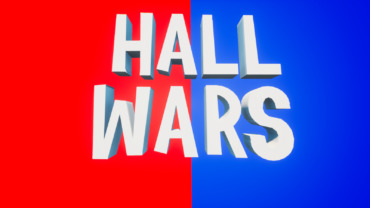 🔴 RED VS BLUE 🔵 HALL WARS
