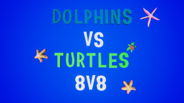 Dolphins vs Turtles 8v8