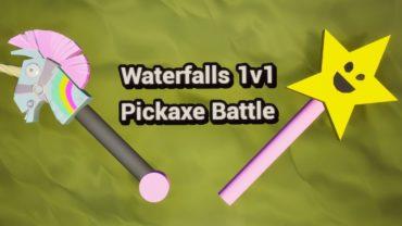 Waterfalls 1v1 - Pickaxe Battle