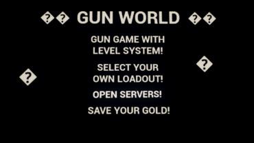 🔫🌎 GUN WORLD 🌎🔫