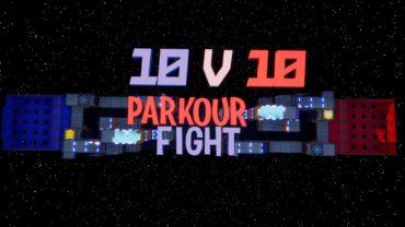 🏃🧗 10 VS 10 Parkour FIGHT 🔫
