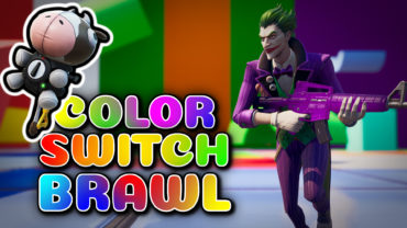 🔫🌈 COLOR SWITCH BRAWL FFA 🌈🔫 🐮 New INFLATE-A-BULL! 🐮