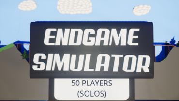ULTIMATE ENDGAME SIMULATOR (SOLOS)