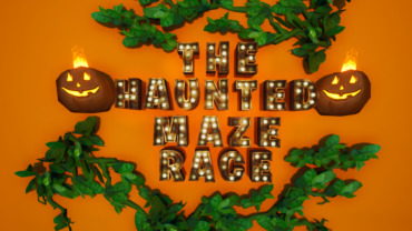 The Haunted Maze Race!