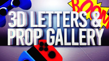 3D LETTER AND PROP GALLERY