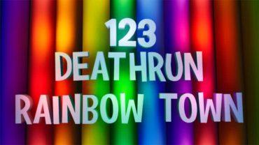 123 LEVELS DEATHRUN - RAINBOW TOWN 🌈