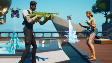 The Agency gun game