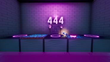 444 LEVEL DEFAULT DEATHRUN 🙌