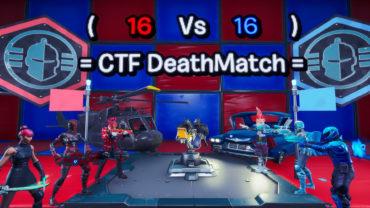 🔥 16 Vs 16 CTF / 💯 Team Deathmatch 🔥