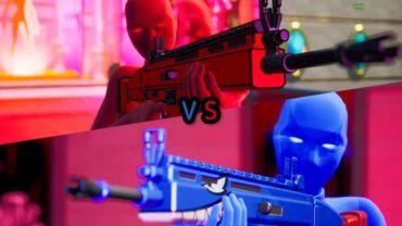 Red vs Blue Next Level أحمر ضد أزرق