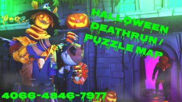 🎃 Halloween Deathrun/Puzzle Map 👻