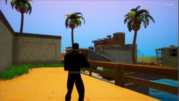 gun game + prop hunt in paradise palms