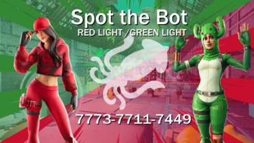 🦑 Spot the Bot 🦑 Red Light/Green Light  🦑  Like Squid Game but better
