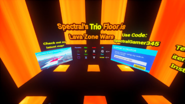 Spectral's Trio Floor is Lava Zone Wars