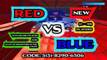 💯RED VS BLUE🥶 RUMBLE احمر ضد ازرق مطور