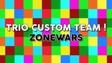 *NEW* BEST TRIO ZONEWARS MAP 🐐